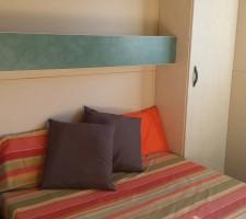 Habitació doble al bungalow al Camping Montsant Park