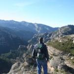 Vistas a la Sierra del Montsant