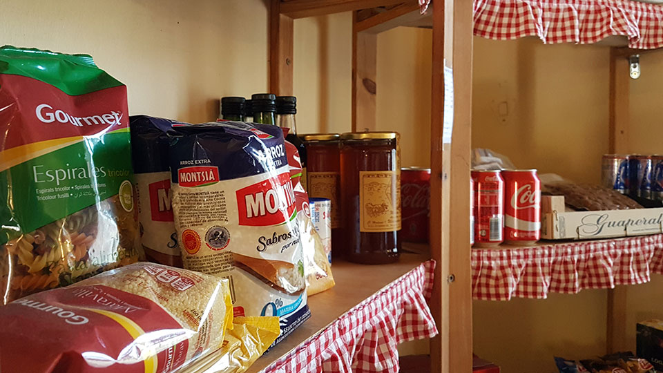 Tienda en el Camping Montsant Park
