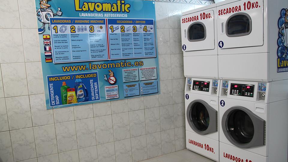 Auto-servicio de lavandería